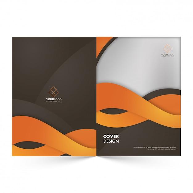Conception de couverture promotionnelle Vecteur Premium