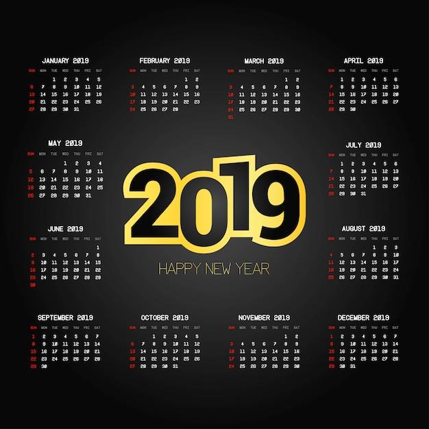 Download Kalender 2019 Ai