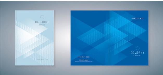 Conception du livre de couverture Vecteur Premium