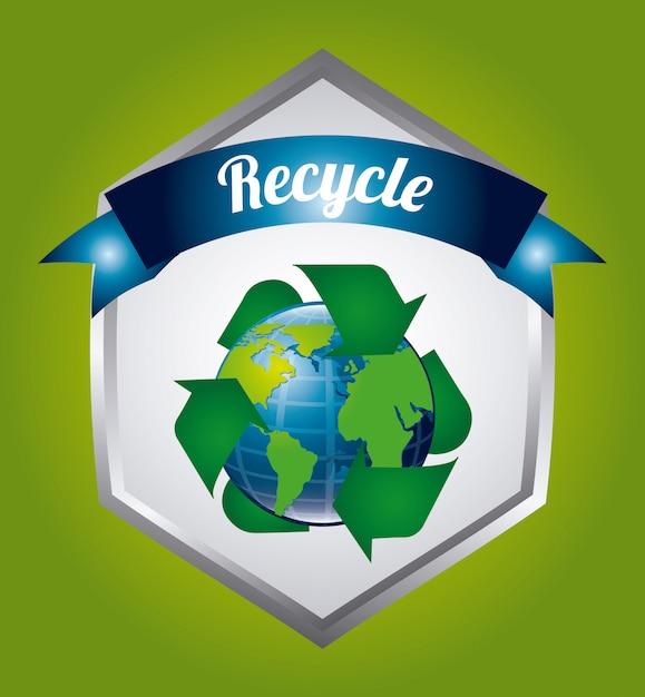 Conception de l'écologie. Vecteur Premium