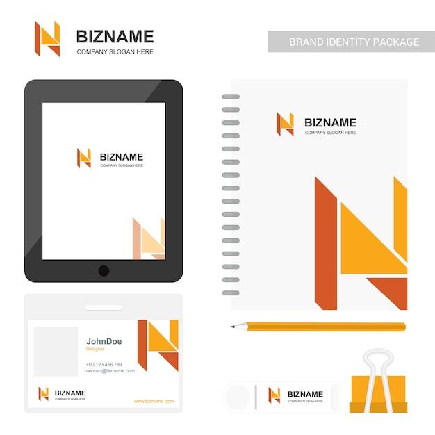 Conception D'écran D'application De L'entreprise Avec Journal Prfessionnel Vecteur Premium
