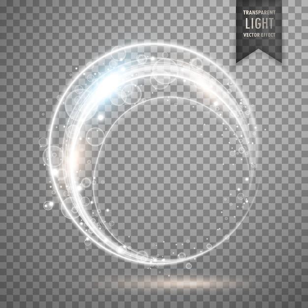 Conception de l'effet anneau de vecteur de lumière Vecteur gratuit