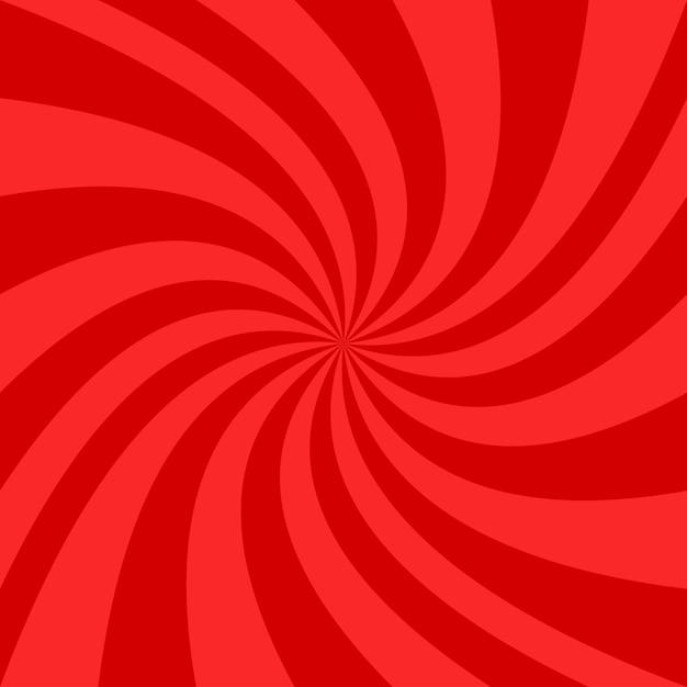 Conception De Fond En Spirale Rouge Vecteur gratuit