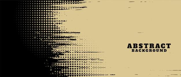Conception De Fond De Texture Abstraite Grunge Et Demi-teintes Vecteur gratuit