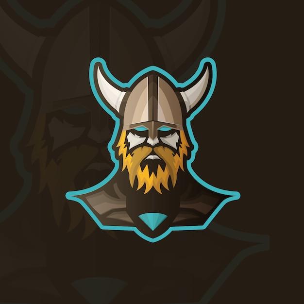 Conception de fond viking Vecteur gratuit