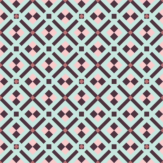 Conception graphique décoration abstraite seamless pattern Vecteur Premium