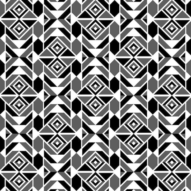 Conception graphique décoration abstraite seamless pattern Vecteur Premium