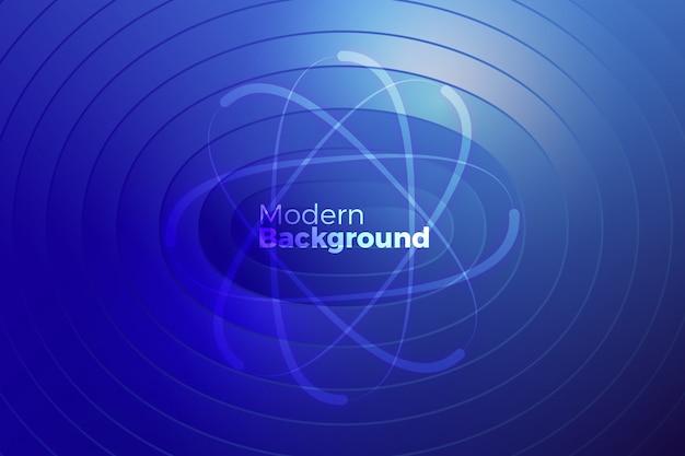 Conception graphique des formes de cercle créatif Vecteur Premium
