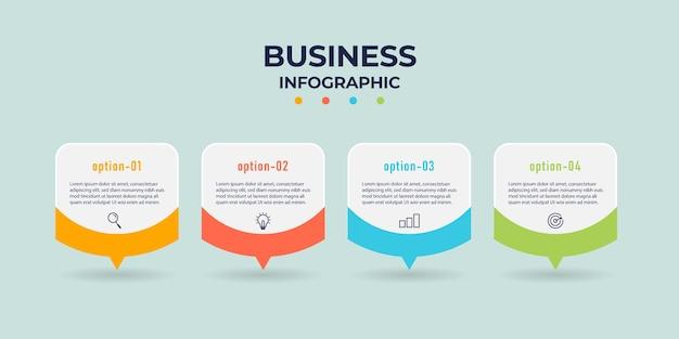 La Conception Graphique Nfo Peut être Utilisée Pour La Mise En Page Du Flux De Travail, Le Diagramme, Le Rapport Annuel. Vecteur Premium