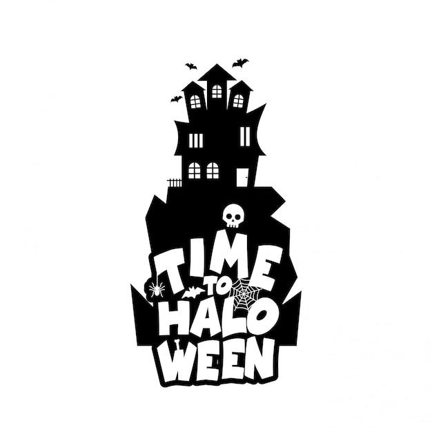 Conception d'halloween Vecteur gratuit