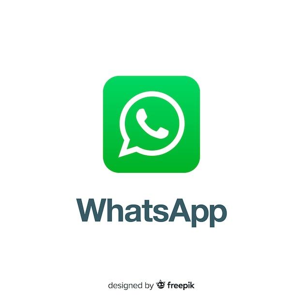 Conception D'icône Whatsapp Vecteur gratuit