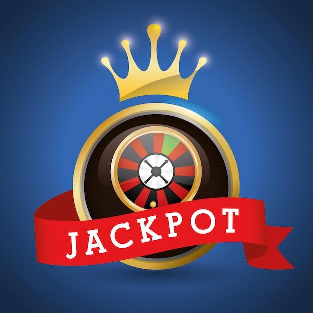 Conception De Jackpot Vecteur Premium