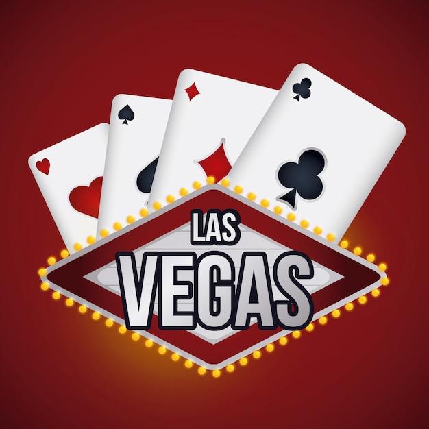 Conception de jeux de casino. Vecteur Premium