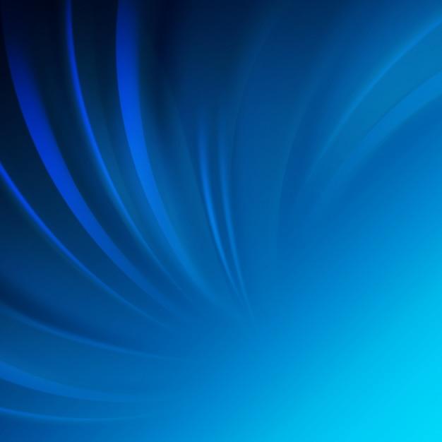 Conception lisse d'onde bleue. Vecteur gratuit