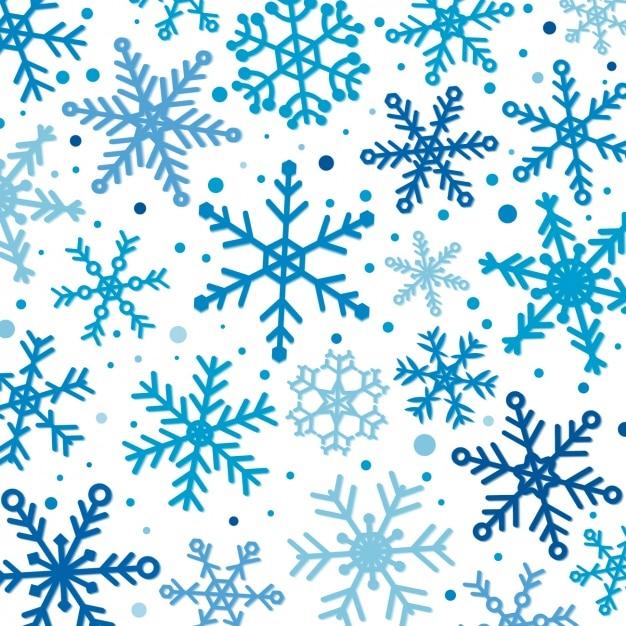 Conception de modèle d'hiver Vecteur gratuit