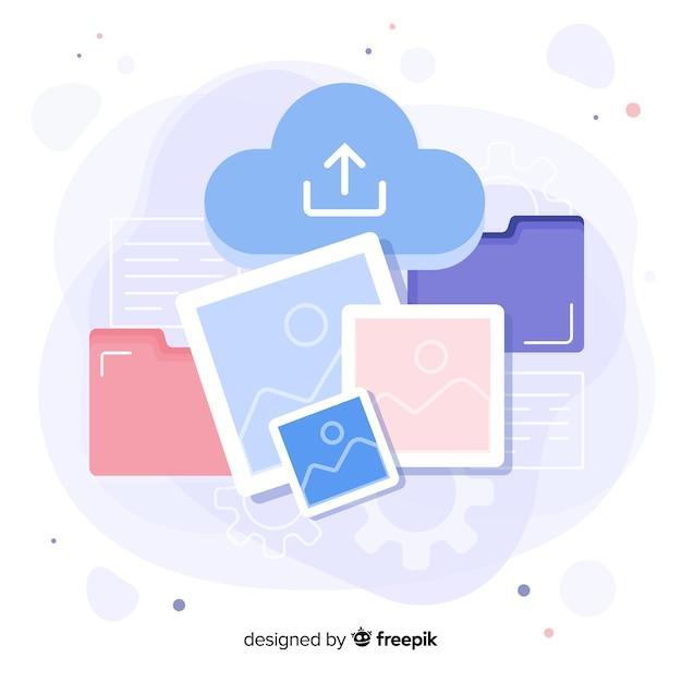 Conception de modèle de page de destination pour les sites web d'entreprise Vecteur gratuit