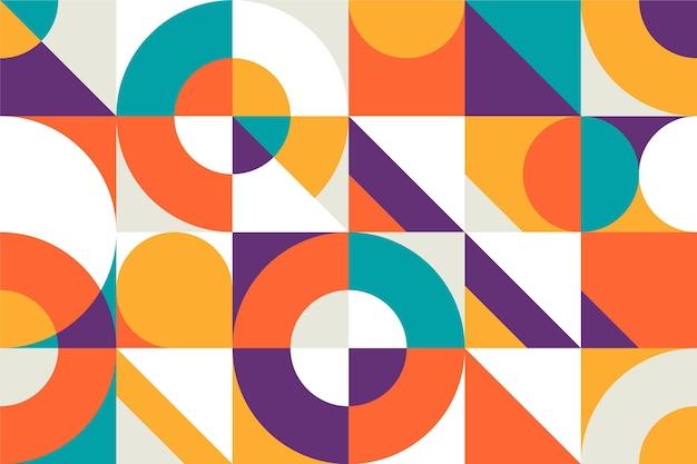 Conception De Papier Peint Minimaliste Géométrique Vecteur gratuit