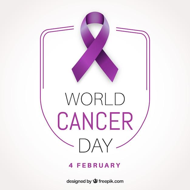 Conception pour la journée mondiale contre le cancer dans un style réaliste Vecteur gratuit