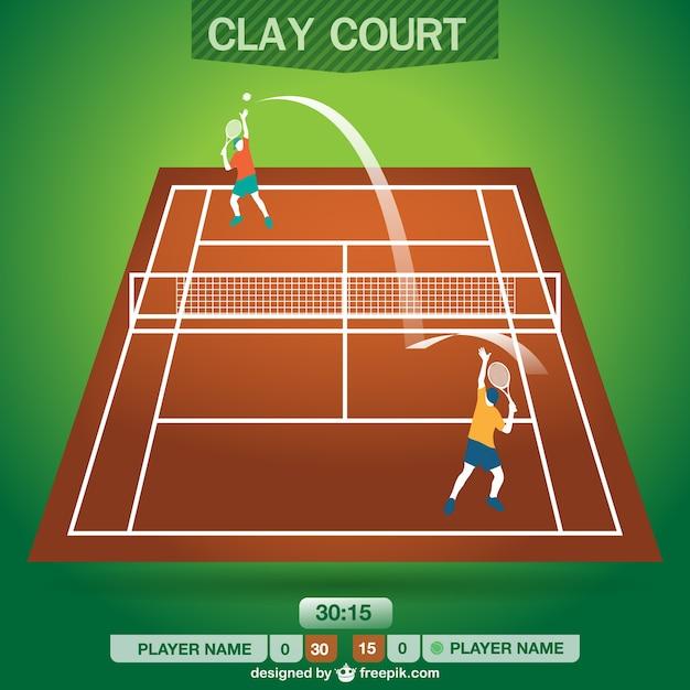 Conception sans terrain de tennis t l charger des for Prix d un terrain de tennis