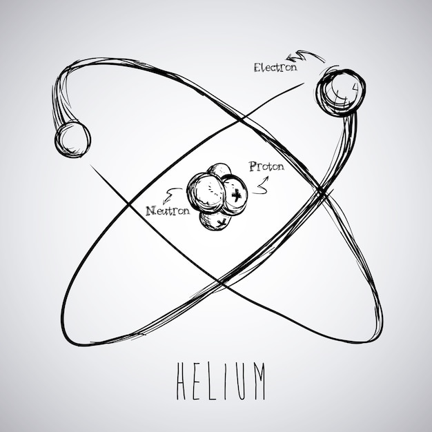 Conception de la science sur l'illustration vectorielle fond gris Vecteur Premium