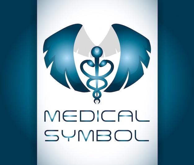 Conception des soins médicaux Vecteur Premium