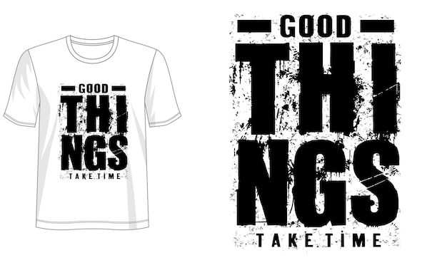 Conception De Typographie Pour T-shirt Imprimé Et Plus Vecteur Premium