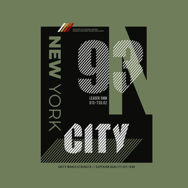 Conception De La Ville De New York Vecteur Premium
