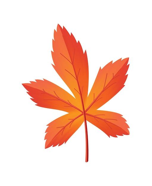 Congé D'automne. Symbole Avec Texture Aquarelle Vecteur Premium