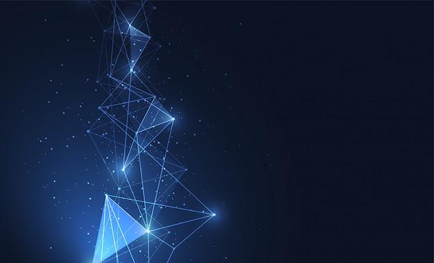 Connexion internet, sens abstrait Vecteur Premium