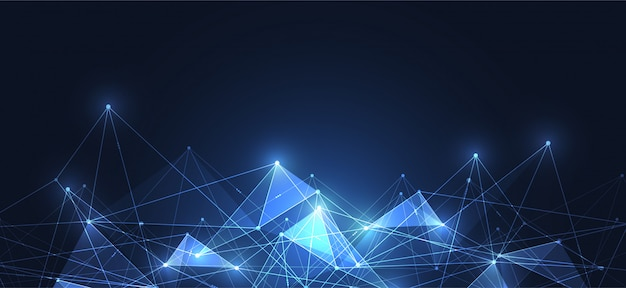 Connexion internet Vecteur Premium
