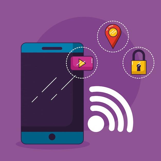 Connexion Wifi Gratuite Vecteur gratuit
