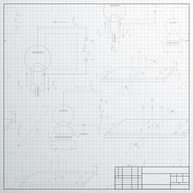 Construction électrique Vecteur gratuit