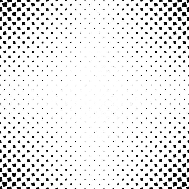Contexte carré carré abstraite monochrome - graphique vectoriel géométrique noir et blanc à partir de carrés angulaires Vecteur gratuit