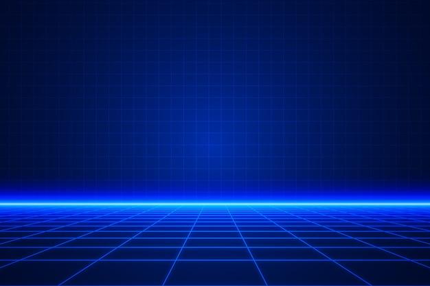 Contexte De Conception Technologique Vecteur gratuit
