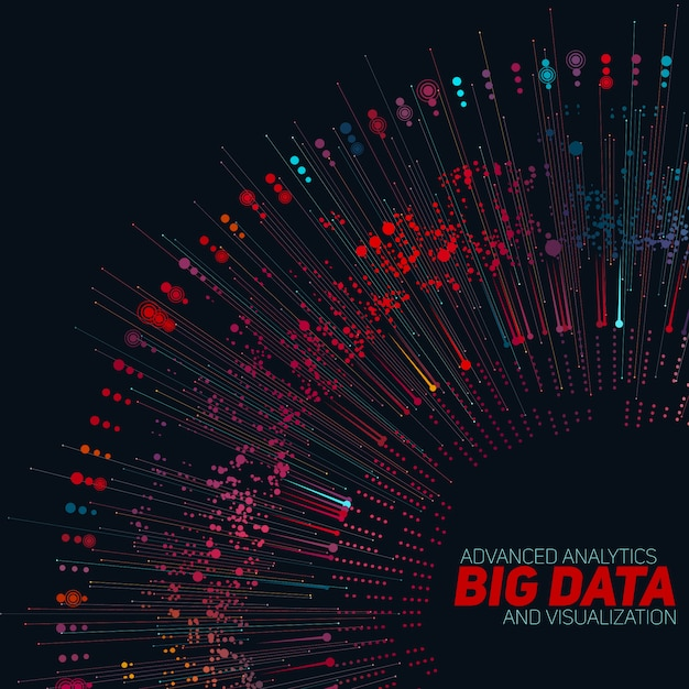 Contexte Du Big Data Vecteur gratuit