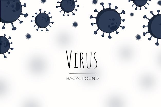 Contexte Du Virus Vecteur gratuit