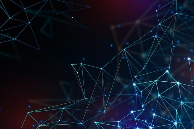 Contexte Technologique Futuriste Vecteur gratuit