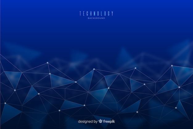 Contexte technologique Vecteur gratuit