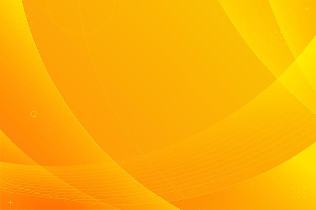 Copiez L'espace Fond Orange Dégradé Vecteur gratuit