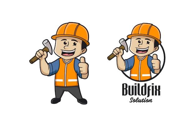 Corriger Le Logo Du Constructeur Vecteur Premium