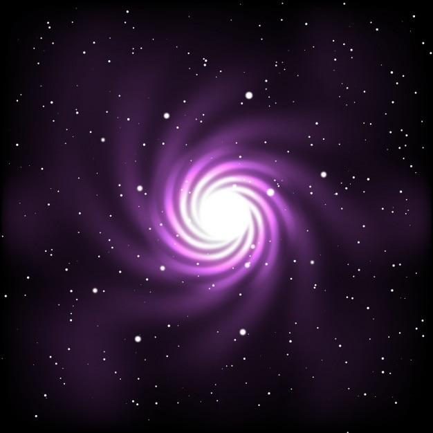 Cosmos abstrait Vecteur gratuit