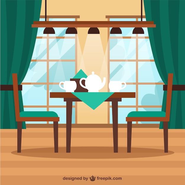 Côtelette de café illustration Vecteur gratuit