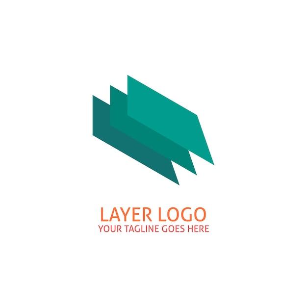 Couche logo Vecteur gratuit