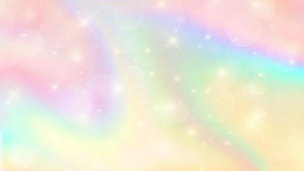 Couleur aquarelle et pastel abstrait coloré Vecteur Premium
