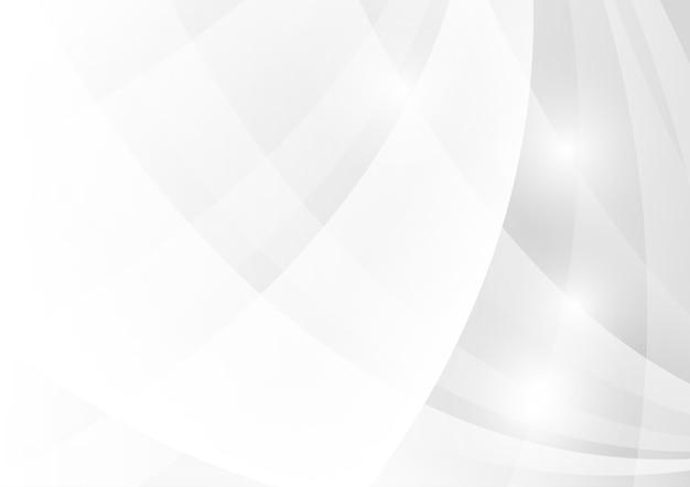 Couleur géométrique abstraite grise et blanche. Vecteur Premium
