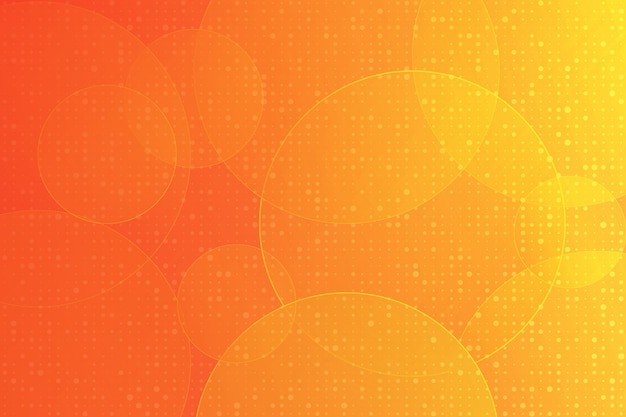 Couleur orange design moderne élément géométrique vecteur abstrait Vecteur Premium