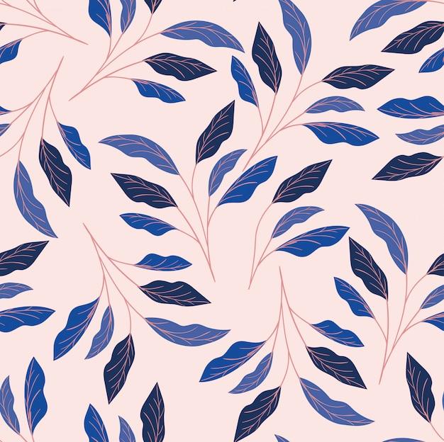 Couleurs feuilles fond naturel Vecteur gratuit