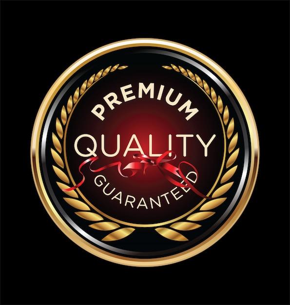 Couronne de laurier de qualité supérieure Vecteur Premium