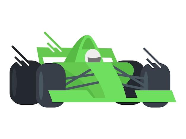 Courses de voitures rapides Vecteur Premium