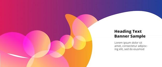 Couvertures abstraites modernes Vecteur Premium